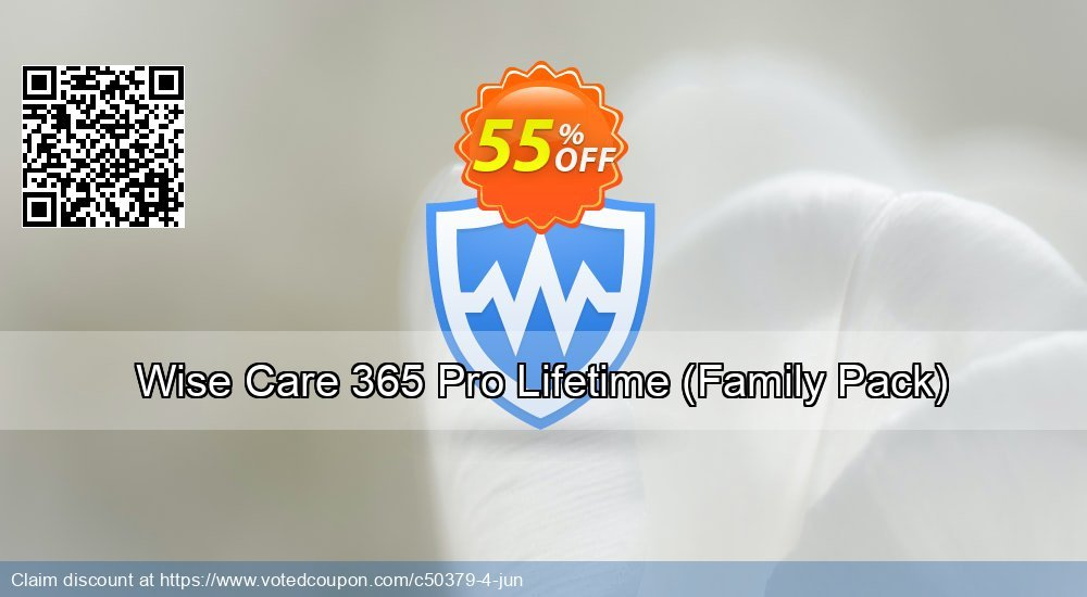Get 40% OFF Wise Care 365 Pro Lifetime (Family Pack) discounts