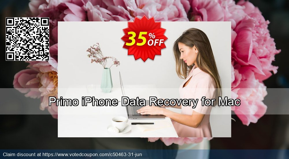 Get 20% OFF Primo iPhone Data Recovery for Mac Coupon
