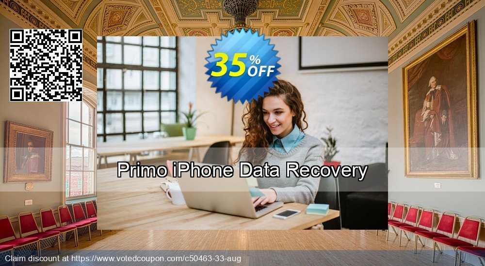 Get 20% OFF Primo iPhone Data Recovery Coupon