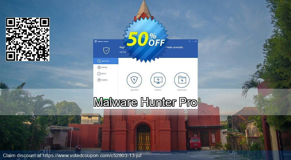 Get 75% OFF Malware Hunter Pro promo