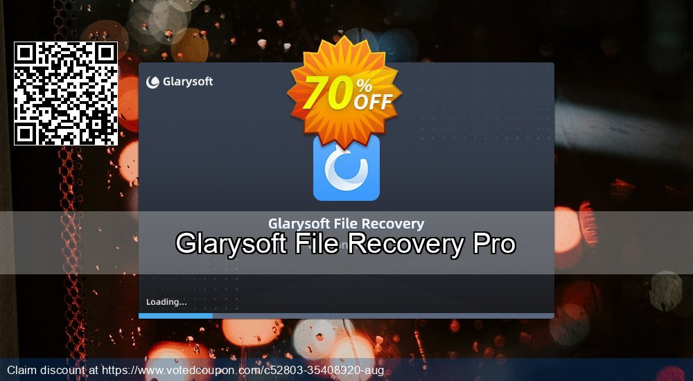 Get 74% OFF Glarysoft File Recovery Pro Coupon