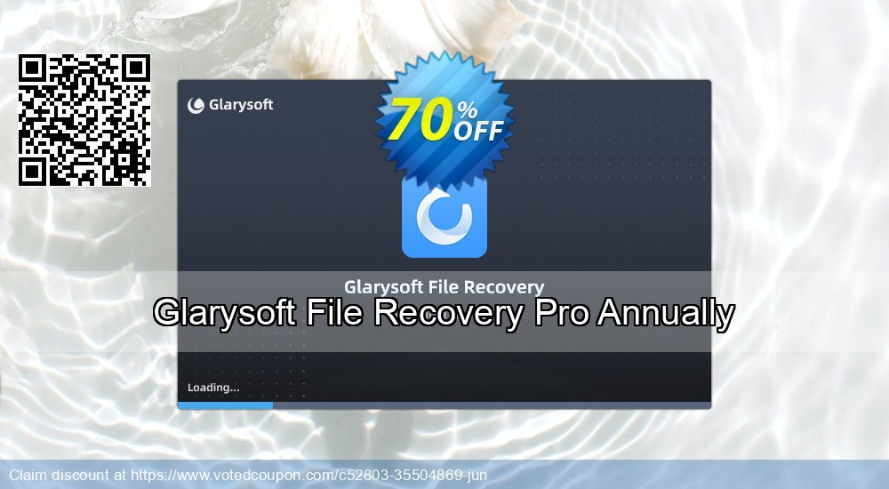 Get 71% OFF Glarysoft File Recovery Pro Annually Coupon