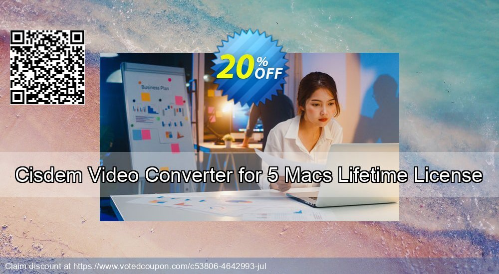 Get 10% OFF Cisdem Video Converter for 5 Macs offering sales