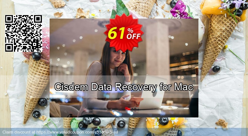 Get 51% OFF Cisdem Data Recovery for Mac Coupon