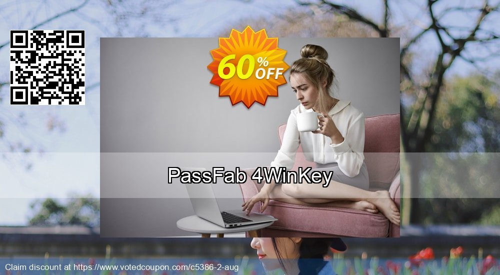 Get 62% OFF PassFab 4WinKey Coupon
