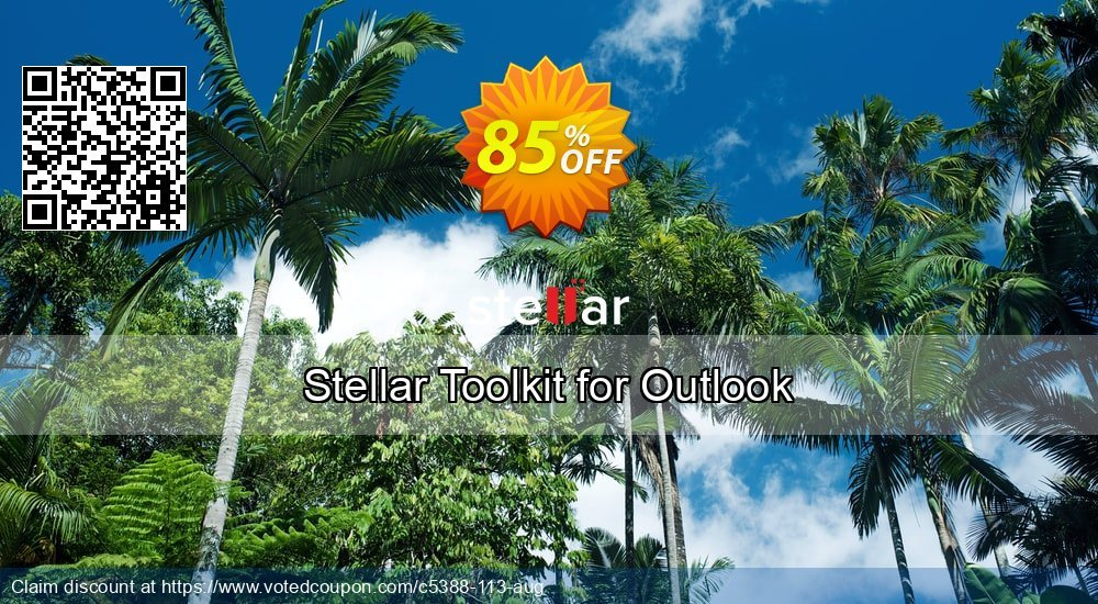 Get 85% OFF Stellar Toolkit for Outlook Coupon