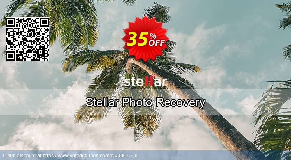 Get 35% OFF Stellar Photo Recovery Coupon