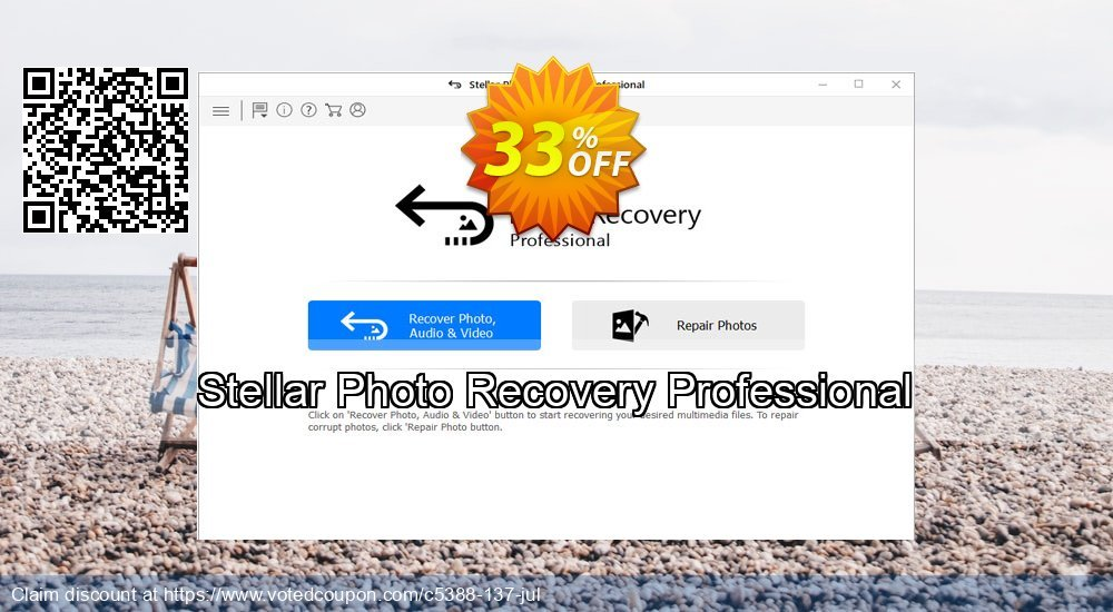Get 33% OFF Stellar Photo Recovery Professional Coupon