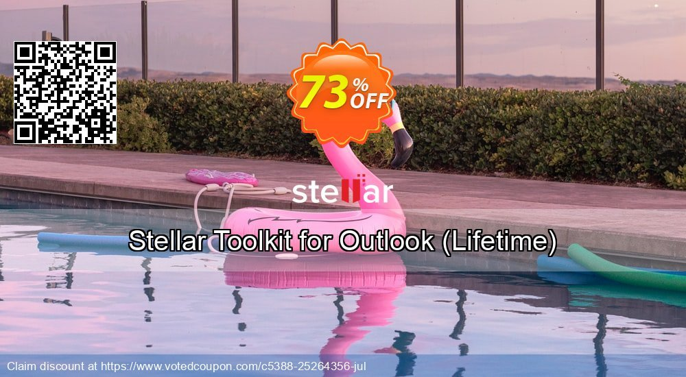 Get 73% OFF Stellar Toolkit for Outlook, Lifetime Coupon