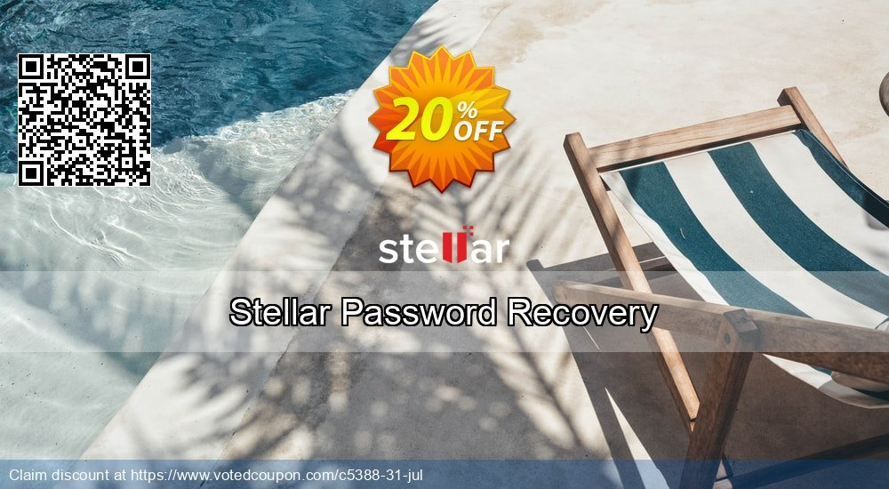 Get 20% OFF Stellar Phoenix Password Recovery Coupon