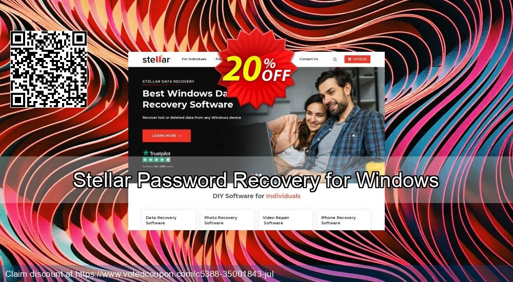 Get 20% OFF Stellar Password Recovery for Windows Coupon