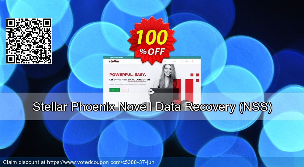 Get 100% OFF Stellar Phoenix Novell Data Recovery (NSS) Coupon