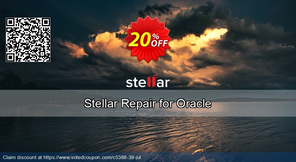 Get 20% OFF Stellar Phoenix Database Repair for Oracle Coupon