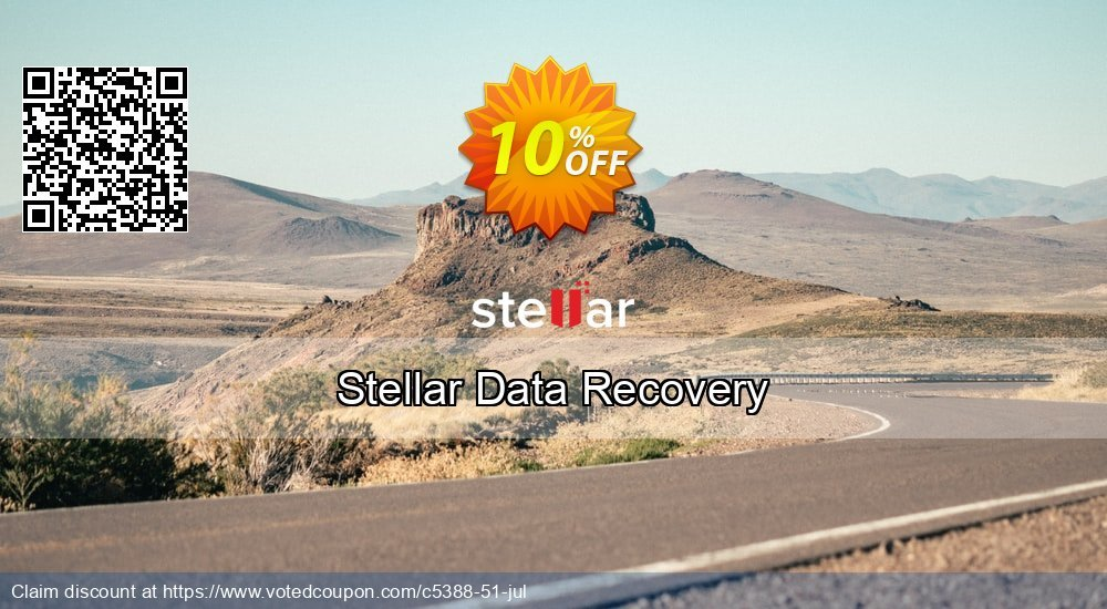Get 21% OFF Stellar Data Recovery Coupon