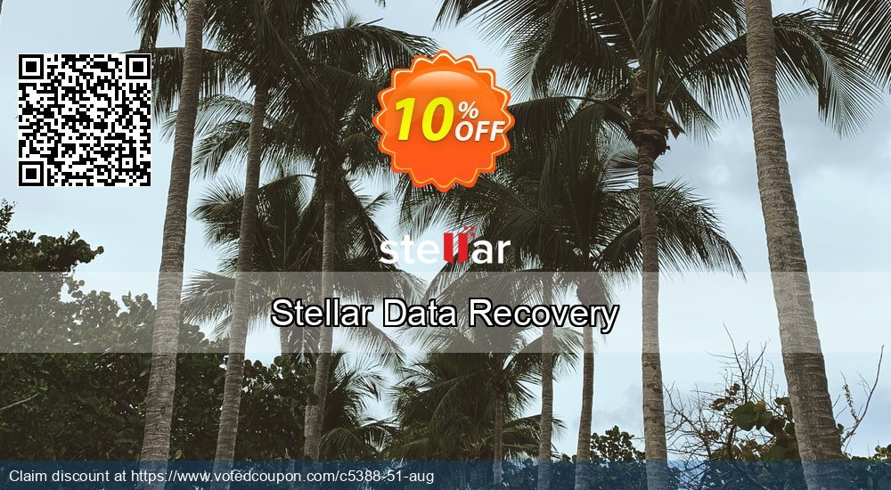 Get 20% OFF Stellar Data Recovery Standard Coupon