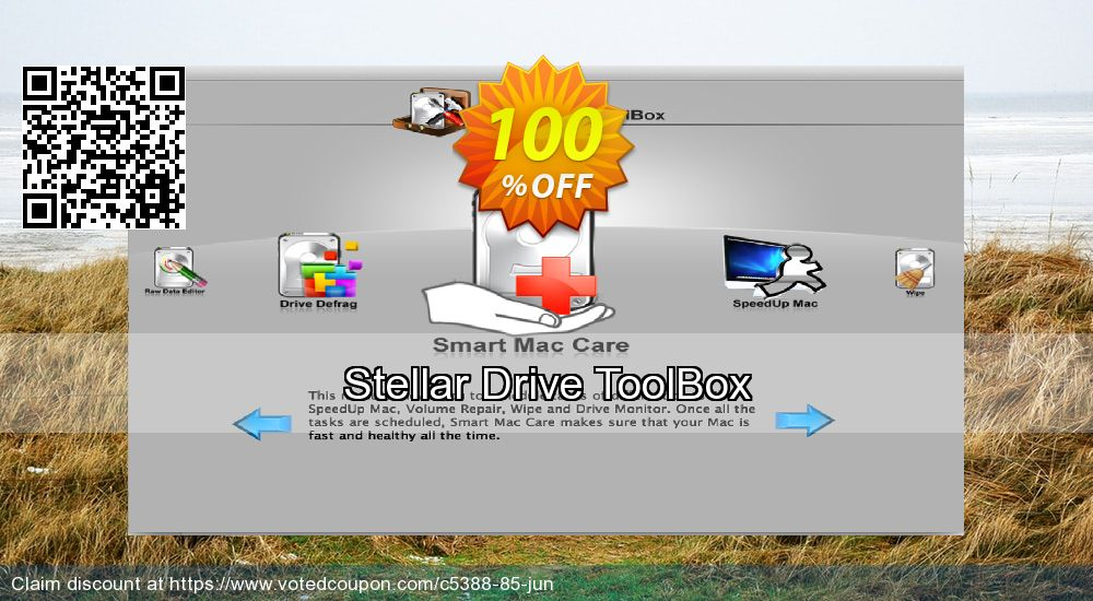 Get 100% OFF Stellar Drive ToolBox offering sales