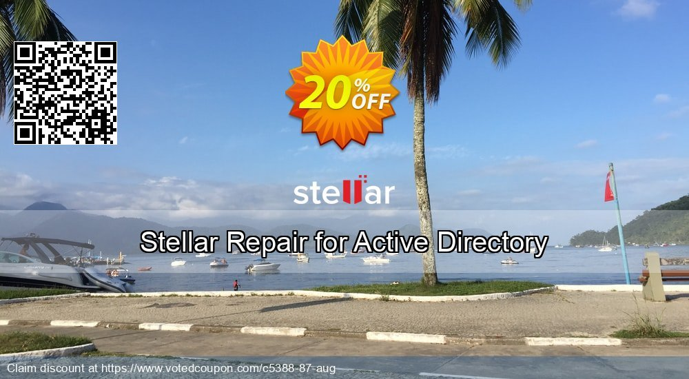 Get 40% OFF Stellar Repair for Active Directory offering sales