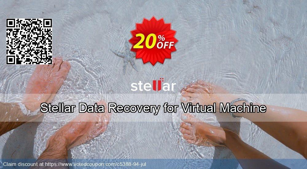 Get 20% OFF Stellar Data Recovery for Virtual Machine Coupon