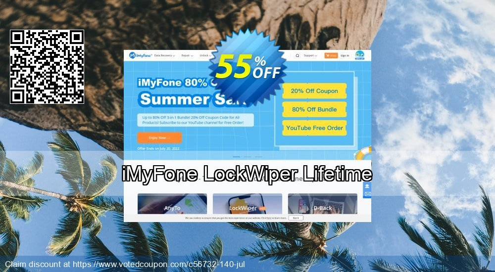 Get 45% OFF iMyFone LockWiper - Family License offering sales