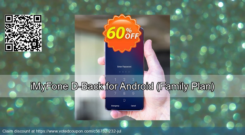 Get 61% OFF iMyFone D-Back for Android, Family Plan Coupon