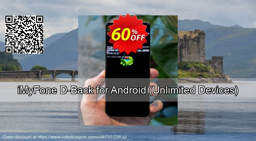 Get 60% OFF iMyFone D-Back for Android, Unlimited Devices Coupon