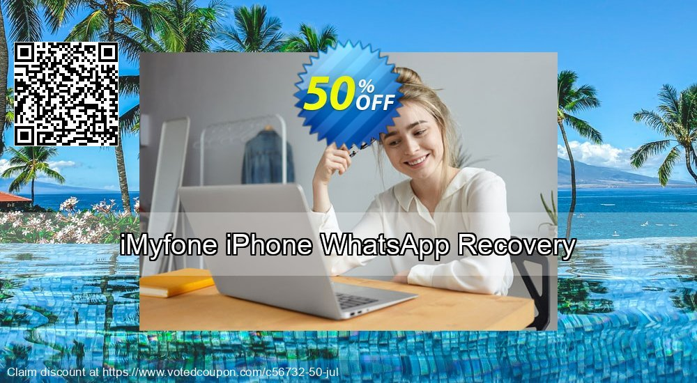 Get 51% OFF iMyfone iPhone WhatsApp Recovery Coupon