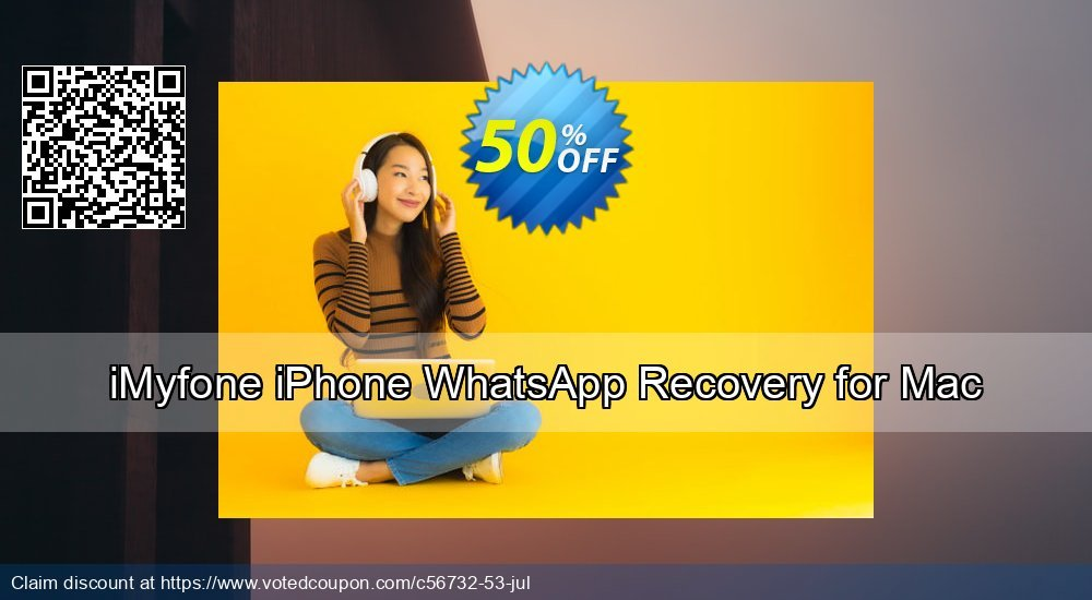 Get 50% OFF iMyfone iPhone WhatsApp Recovery for Mac Coupon