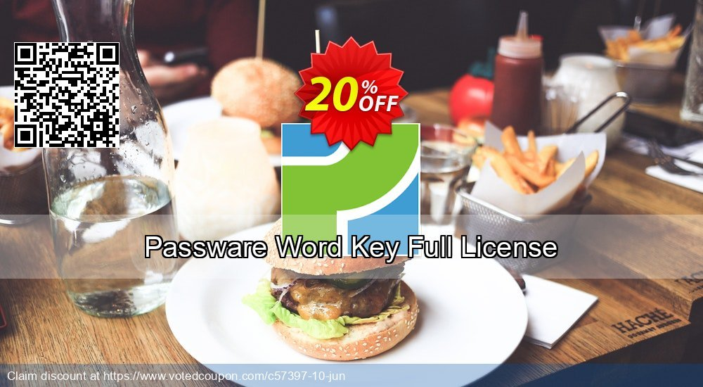 Get 20% OFF Passware Word Key Full License Coupon