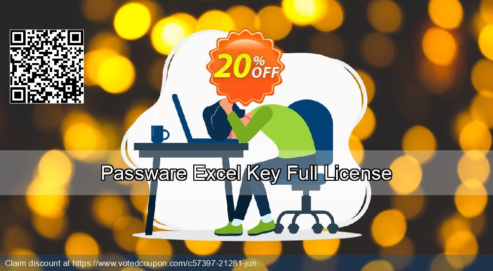Get 20% OFF Passware Excel Key Full License Coupon