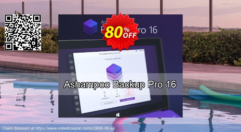 Get 70% OFF Ashampoo Backup Pro offering sales