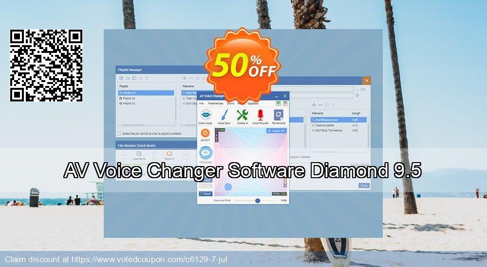 Get 40% OFF AV Voice Changer Software Diamond offering sales