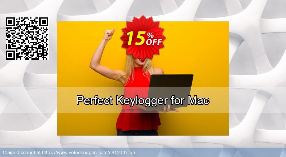 Get 15% OFF Perfect Keylogger for Mac offering discount