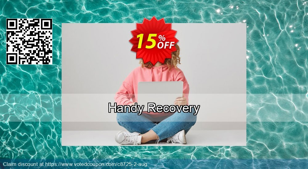 Get 15% OFF Handy Recovery promo
