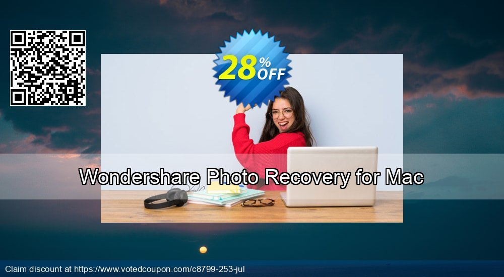 Get 31% OFF Wondershare Photo Recovery for Mac Coupon