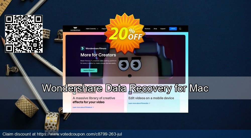 Get 31% OFF Wondershare Data Recovery for Mac Coupon