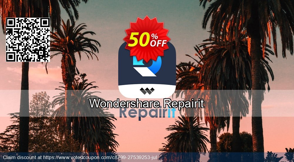 Get 31% OFF Recoverit Video Repair Coupon