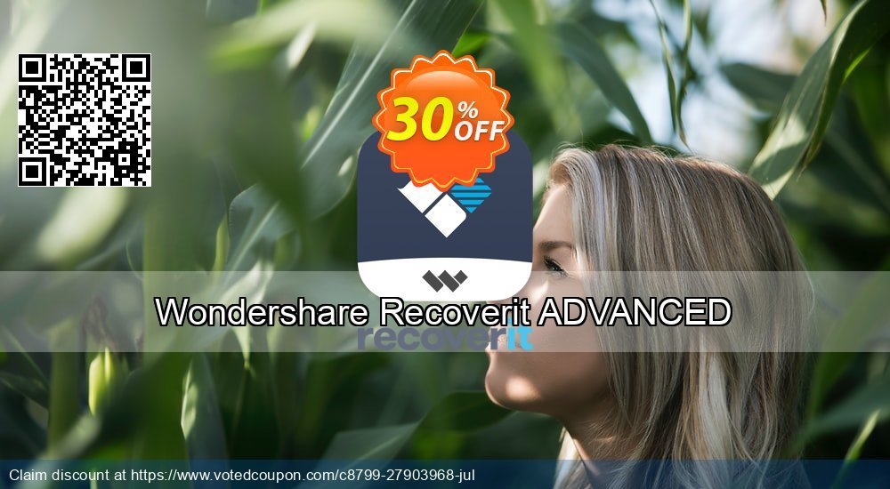 Get 31% OFF Recoverit Advanced Coupon