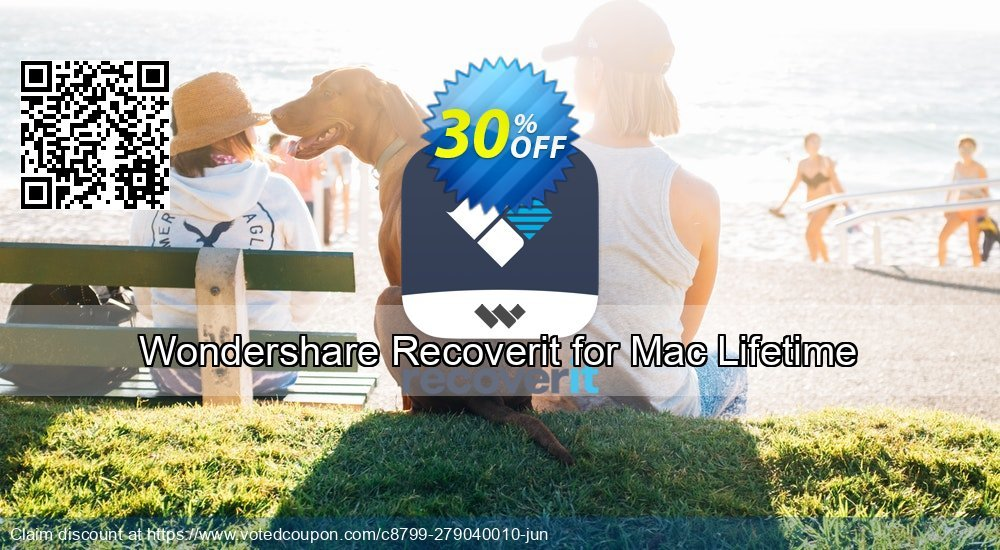 Get 30% OFF Recoverit for Mac Lifetime Coupon