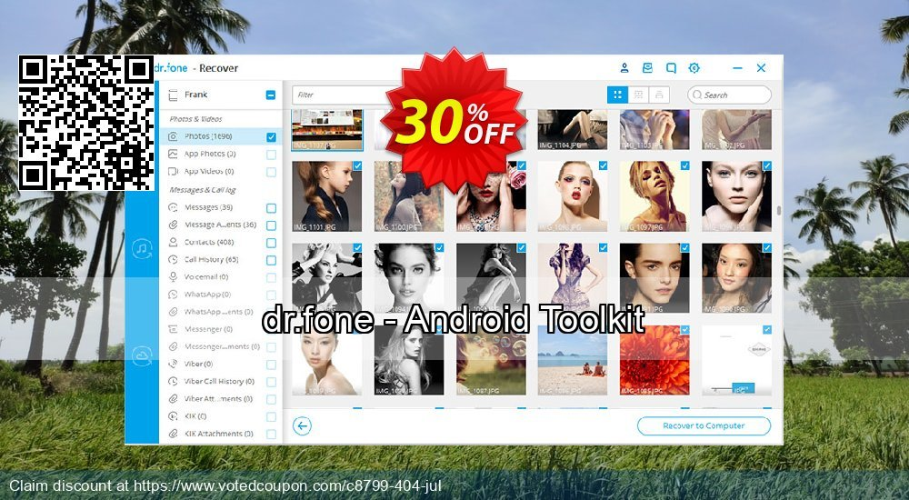 Get 31% OFF dr.fone - Android Toolkit Coupon