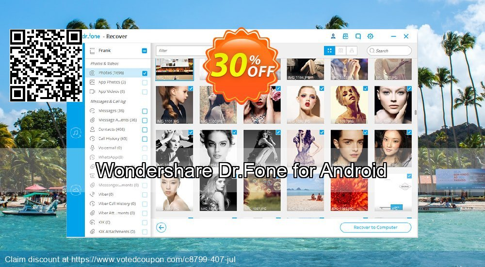 Get 30% OFF Wondershare Dr.Fone for Android Coupon