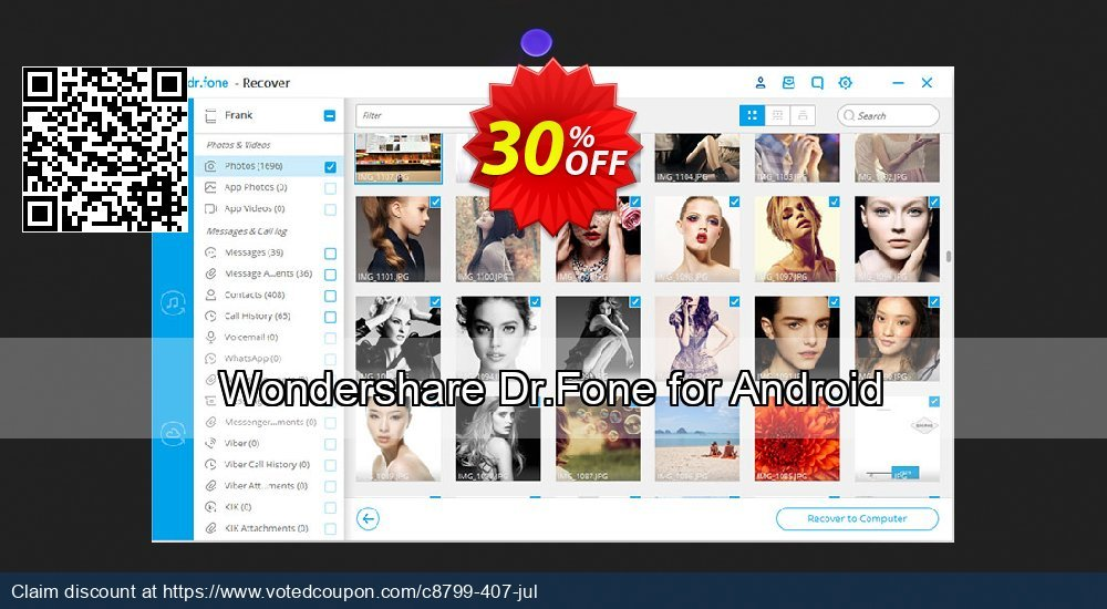 Get 31% OFF Wondershare Dr.Fone for Android Coupon