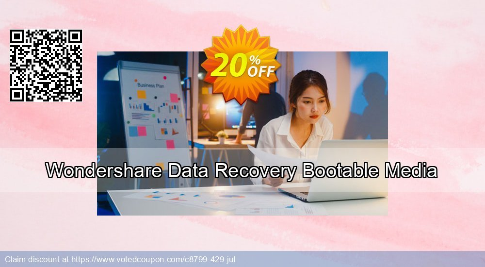 Get 30% OFF Wondershare Data Recovery Bootable Media Coupon