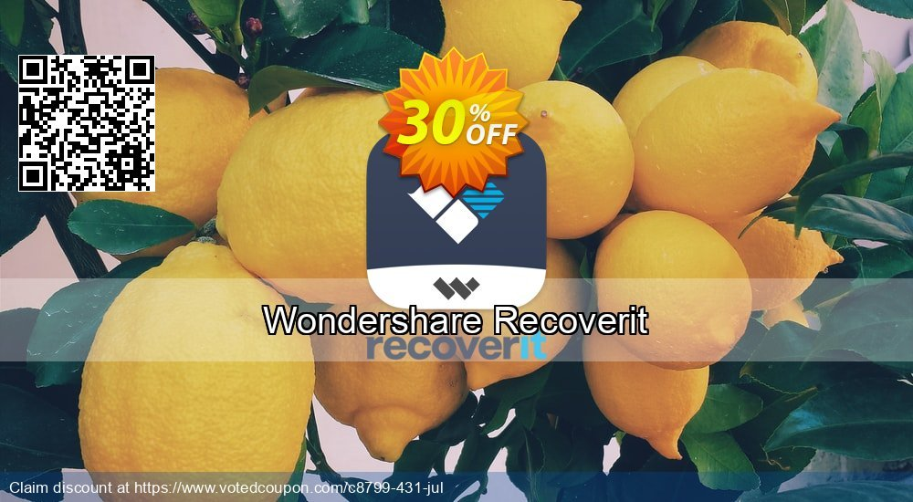 Get 31% OFF Recoverit Coupon