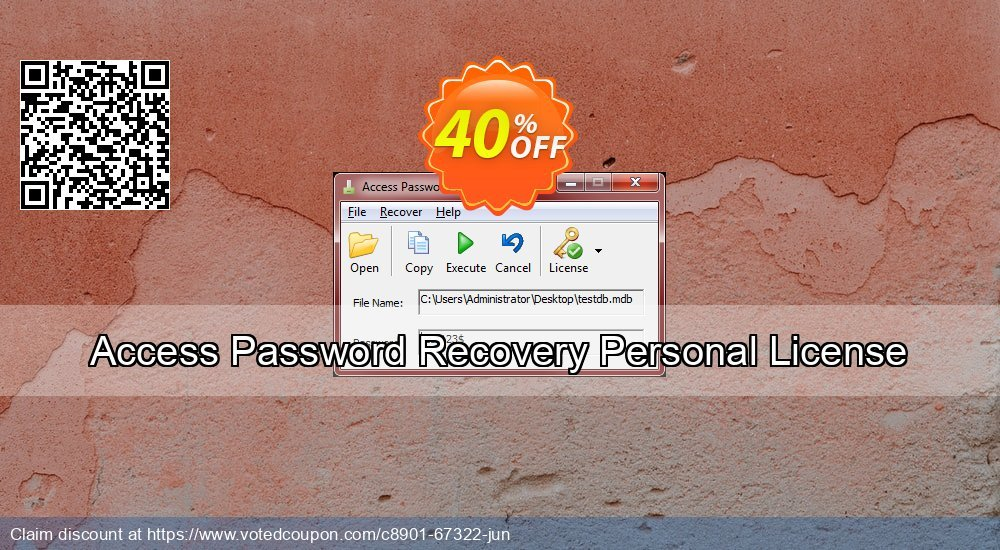 Get 41% OFF Access Password Recovery Personal License Coupon