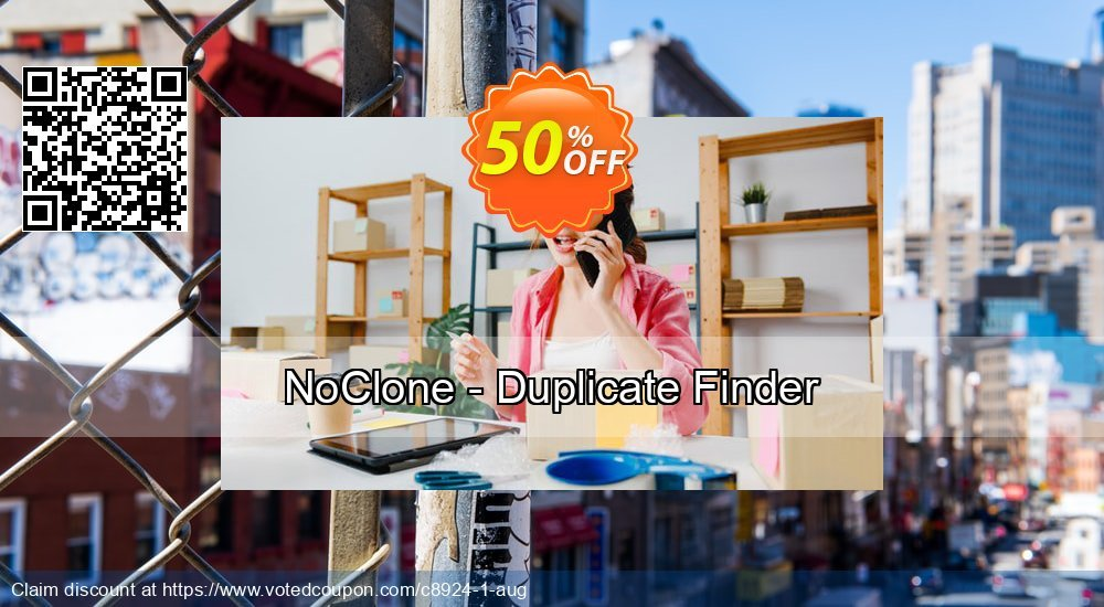 Get 50% OFF NoClone - Duplicate Finder discount