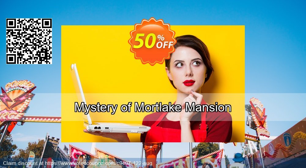 Get 50% OFF Mystery of Mortlake Mansion discounts