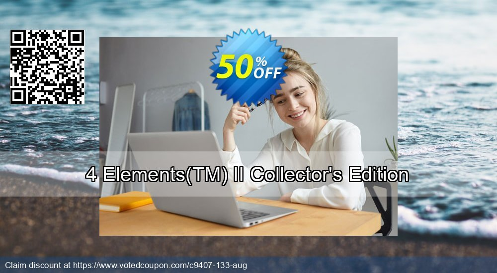 Get 50% OFF 4 Elements(TM) II Collector's Edition offering sales