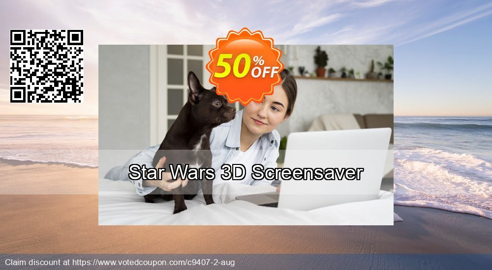 Get 50% OFF Star Wars 3D Screensaver promo
