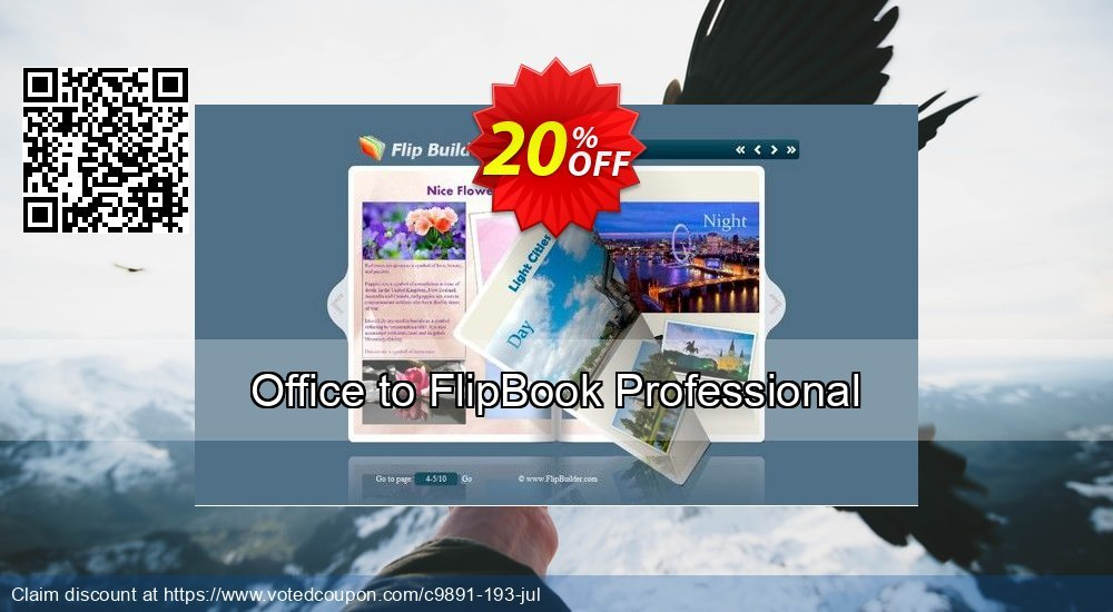 Get 20% OFF Office to FlipBook Professional offering sales