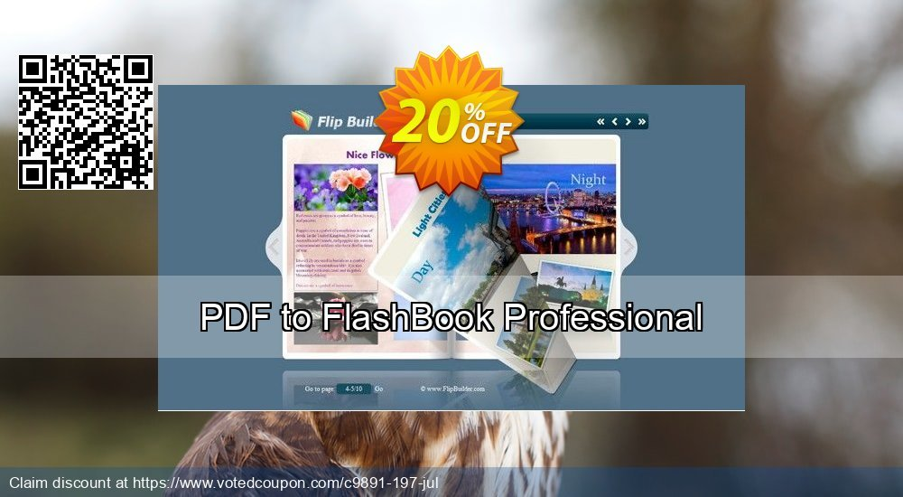Get 20% OFF PDF to FlashBook Professional offering sales